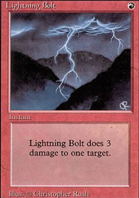 Lightning Bolt - Revised Edition