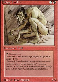 Sedge Troll - Revised Edition
