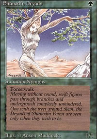 Shanodin Dryads - Revised Edition