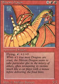 Shivan Dragon - Revised Edition