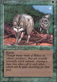 Timber Wolves - Revised Edition