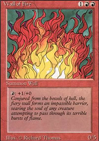 Wall of Fire - Revised Edition