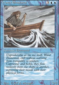 Water Elemental - Revised Edition