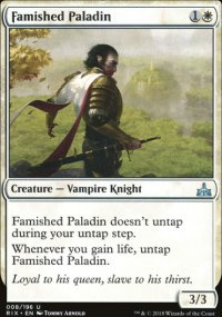Famished Paladin - Rivals of Ixalan