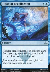 Flood of Recollection - Rivals of Ixalan