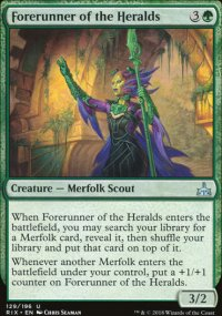 Forerunner of the Heralds - Rivals of Ixalan