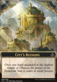 City's Blessing - Rivals of Ixalan