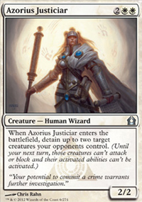 Azorius Justiciar - Return to Ravnica