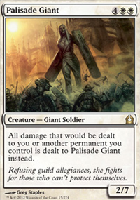 Palisade Giant - Return to Ravnica