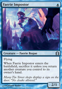 Faerie Impostor - Return to Ravnica