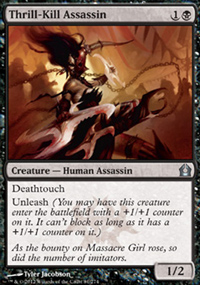 Thrill-Kill Assassin - Return to Ravnica