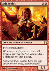 Ash Zealot - Return to Ravnica