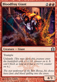 Bloodfray Giant - Return to Ravnica