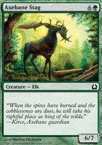 Axebane Stag - Return to Ravnica