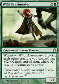 Wild Beastmaster - Return to Ravnica