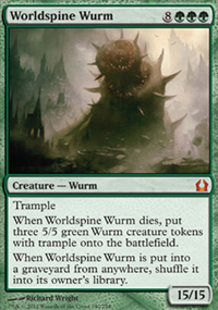 Worldspine Wurm - Return to Ravnica