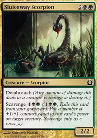 Sluiceway Scorpion - Return to Ravnica