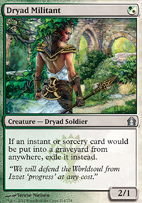 Dryad Militant - Return to Ravnica