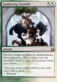 Sundering Growth - Return to Ravnica