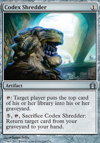 Codex Shredder - Return to Ravnica