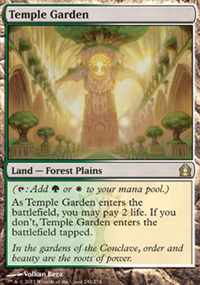 Temple Garden - Return to Ravnica