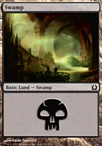 Swamp 3 - Return to Ravnica