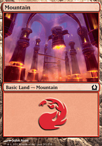 Mountain 1 - Return to Ravnica