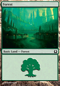Forest 1 - Return to Ravnica