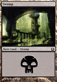Swamp 5 - Return to Ravnica