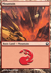 Mountain 4 - Return to Ravnica