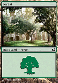 Forest 2 - Return to Ravnica
