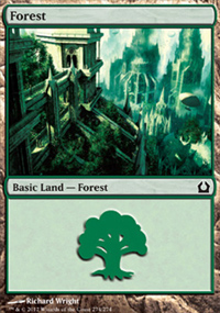 Forest 5 - Return to Ravnica