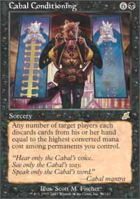 Cabal Conditioning - Scourge