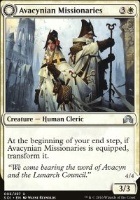 Avacynian Missionaries - Shadows over Innistrad