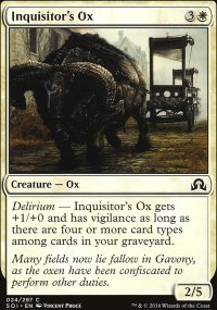 Inquisitor's Ox - Shadows over Innistrad