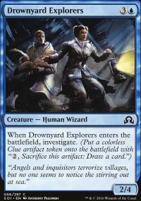 Drownyard Explorers - Shadows over Innistrad