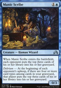 Manic Scribe - Shadows over Innistrad
