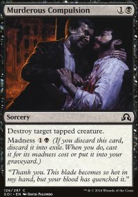 Murderous Compulsion - Shadows over Innistrad