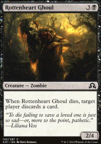 Rottenheart Ghoul - Shadows over Innistrad