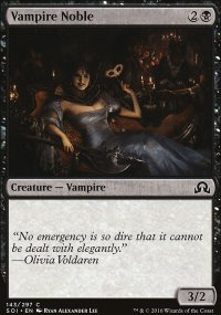 Vampire Noble - Shadows over Innistrad
