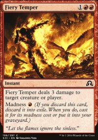 Fiery Temper - Shadows over Innistrad