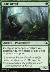 Loam Dryad - Shadows over Innistrad