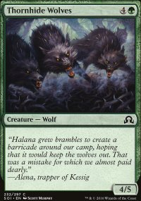 Thornhide Wolves - Shadows over Innistrad
