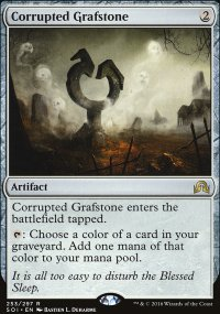 Corrupted Grafstone - Shadows over Innistrad