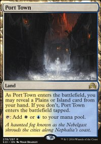Port Town - Shadows over Innistrad