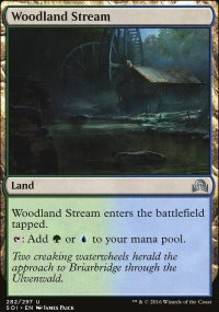 Woodland Stream - Shadows over Innistrad