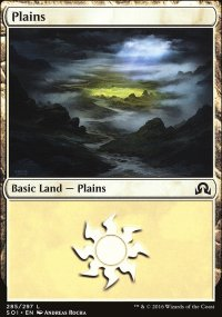 Plains 3 - Shadows over Innistrad