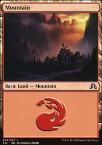Mountain 3 - Shadows over Innistrad