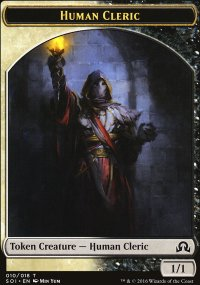 Human Cleric - Shadows over Innistrad