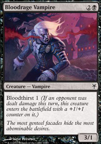Bloodrage Vampire - Sorin vs. Tibalt